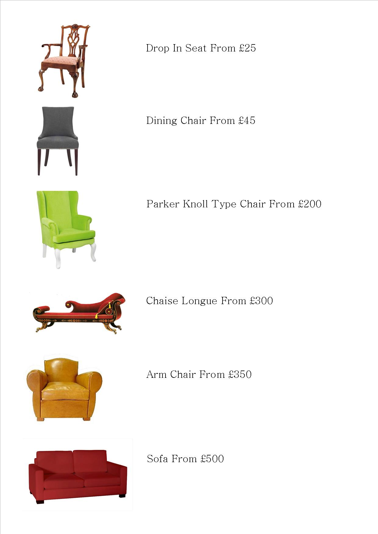 It\'s Not About the Money….Upholstery Price Guide | Number 10 ...