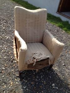 Victorian delicate Armchair