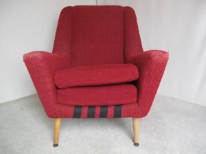 1960s Mid century Modern Armchair