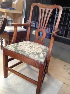George II Carver Drop in Chair