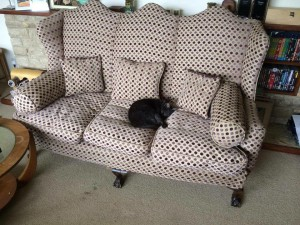 Victorian Large Sofa