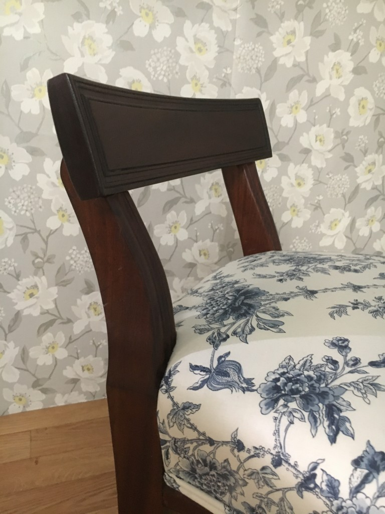 Victorian Dressing Table Stool Side