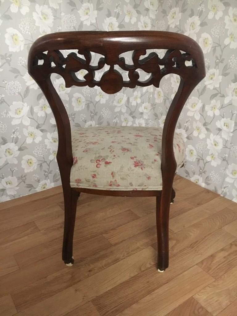Art Nouveau Chair Back