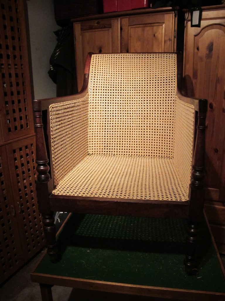 Caned Chair Finished