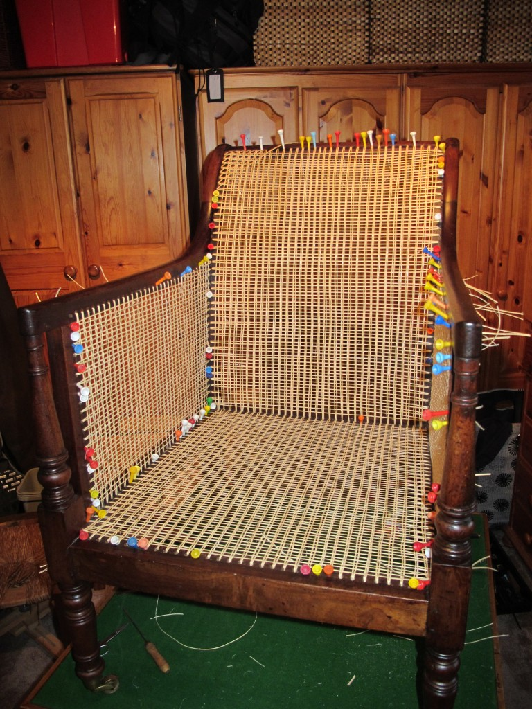 Canned library chair phase