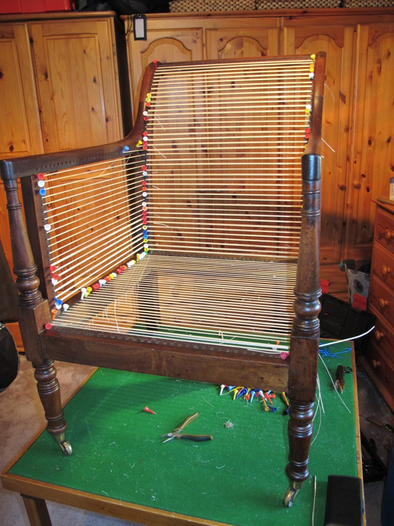 Caned Library Chair Start
