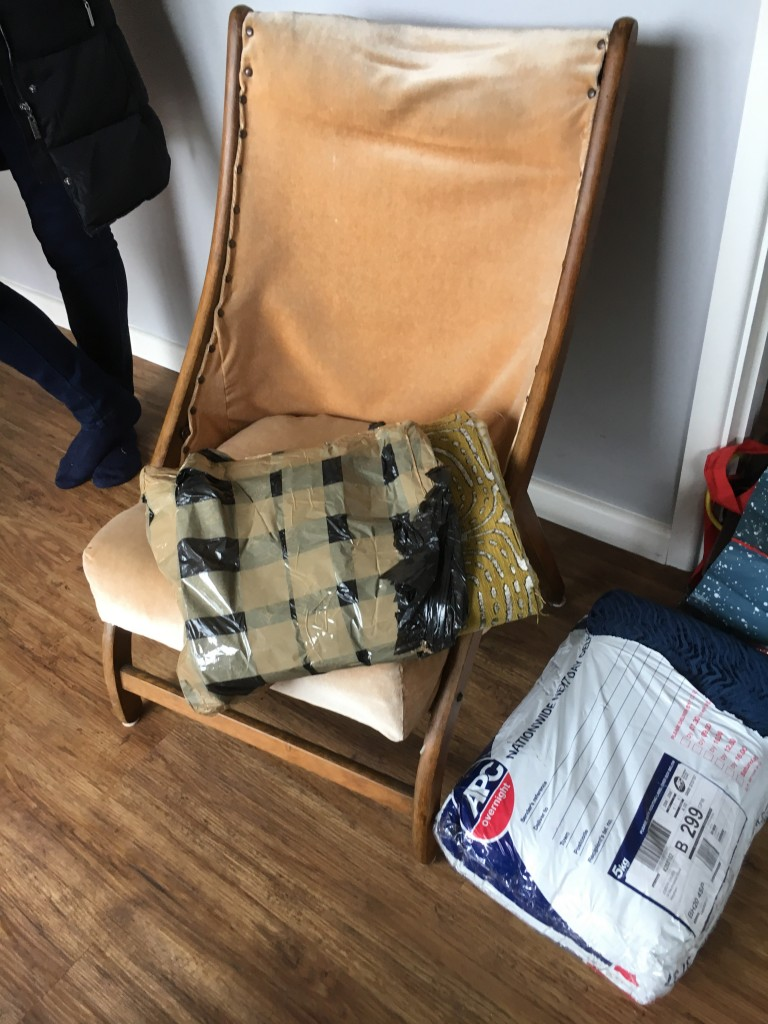 Campaign Chair Original Front