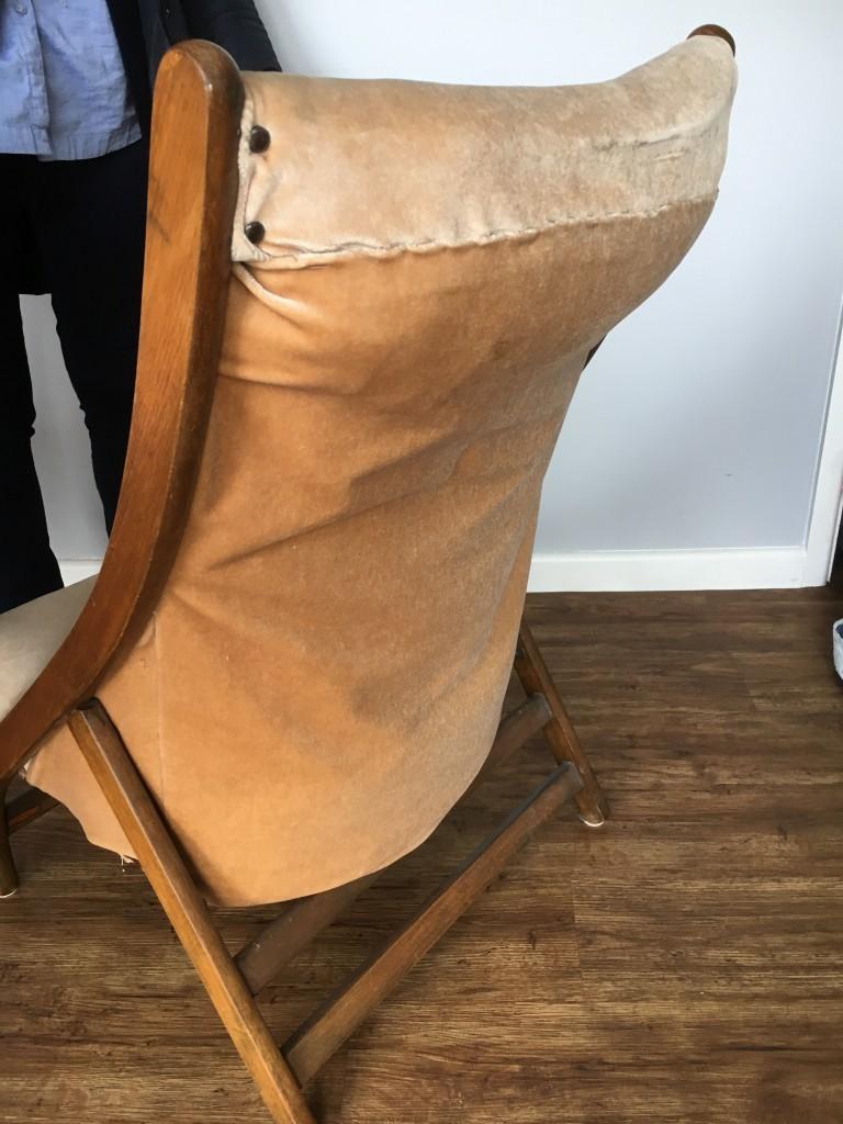 Campaign Chair Original Back